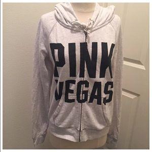 VS Pink Destination Jacket Size Medium